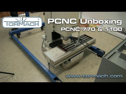 Thumbnail: Tormach PCNC Unboxing (770 and 1100)