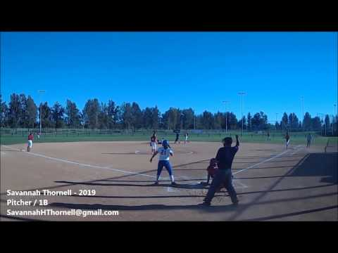 Savannah Thornell - 2019 Pitcher / 1B - Jets Gold - Pre-Thanksgiving Highlights