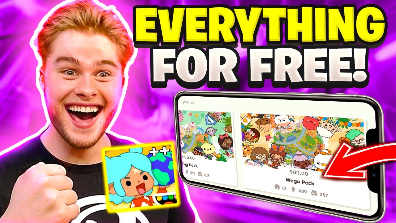 Get ALL PLACES in Toca Life World for FREE! (iOS/Android Tutorial