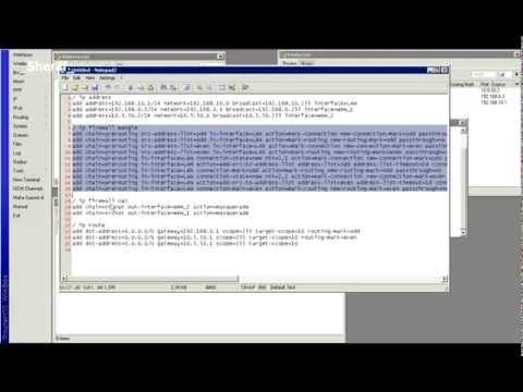 Mikrotik - Wiki - NTH load balancing with masquerade