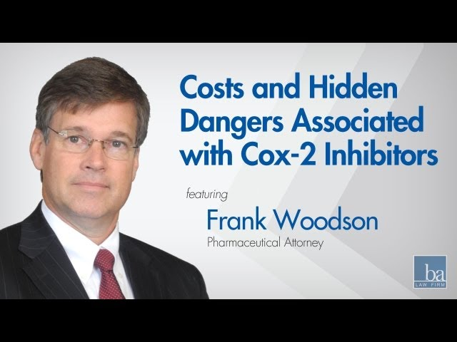Frank Woodson on the Additional Costs and Hidden Dangers Associated with COX-2 Inhibitors