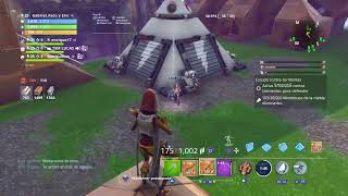Giving away weapons (saving the fortnite world)