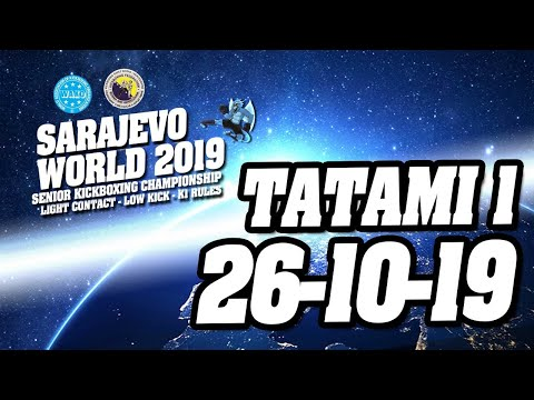 WAKO World Championships 2019 Tatami 1 26/10/19