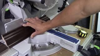Tutorial Una forma de Como cortar molduras llamadas coronas o crown moulding