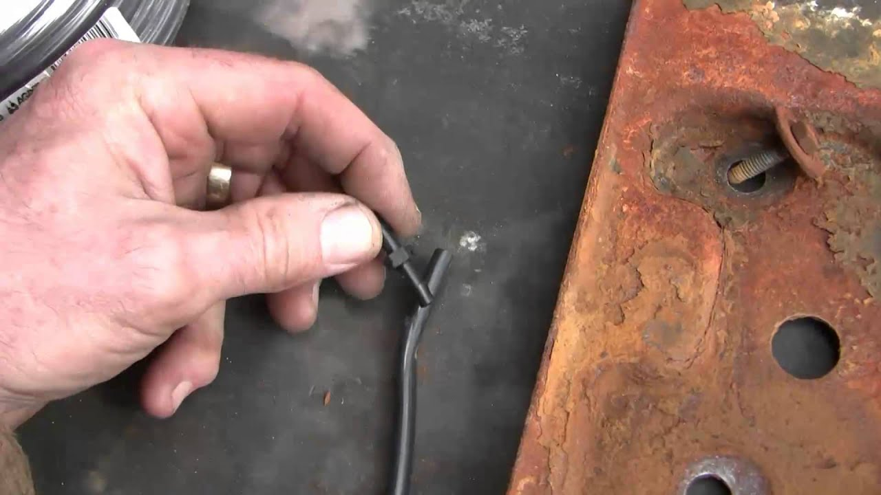 Window Washer Tubing Repair 2000 Chev Suburban Youtube