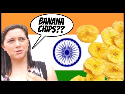 Americans Try Indian Banana Chips For the First Time | #Rickshawali