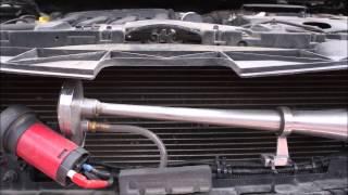 Демонтаж переднего бампера Renault Fluence -