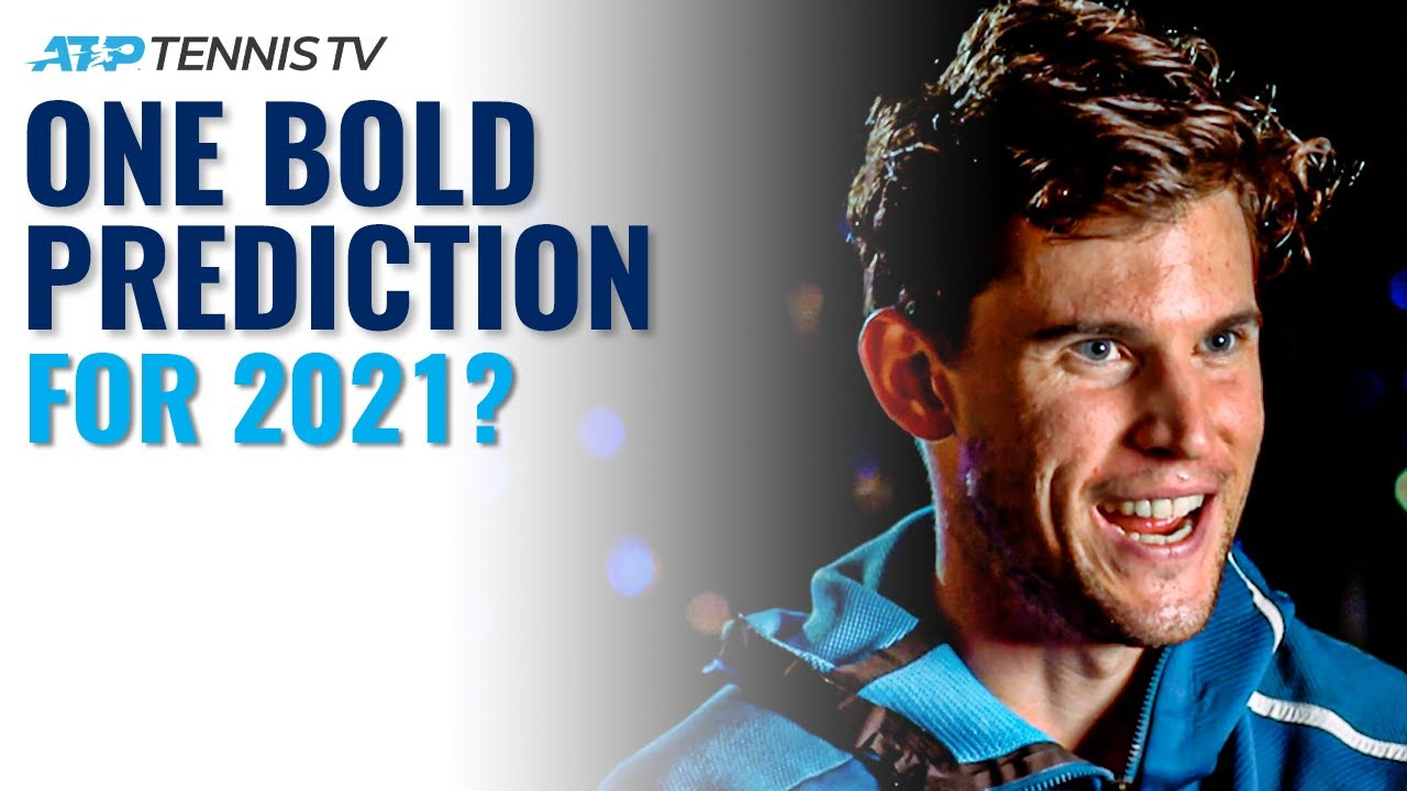 ATP Tennis Players Make One Bold Prediction For 2021!