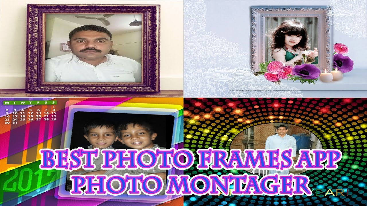How To Download Best Photo Frames App For Android 2017 - YouTube