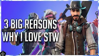 WHY FORTNITE STW IS STILL MY FAVORITE PVE GAME! FORTNITE SAVE THE WORLD 2019 REVIEW!