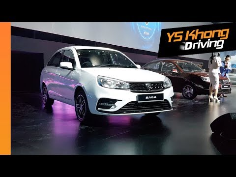 New Proton Saga 2019 Launched [Walkaround Review]: RM32,800, RM35,800 And RM 39,800!