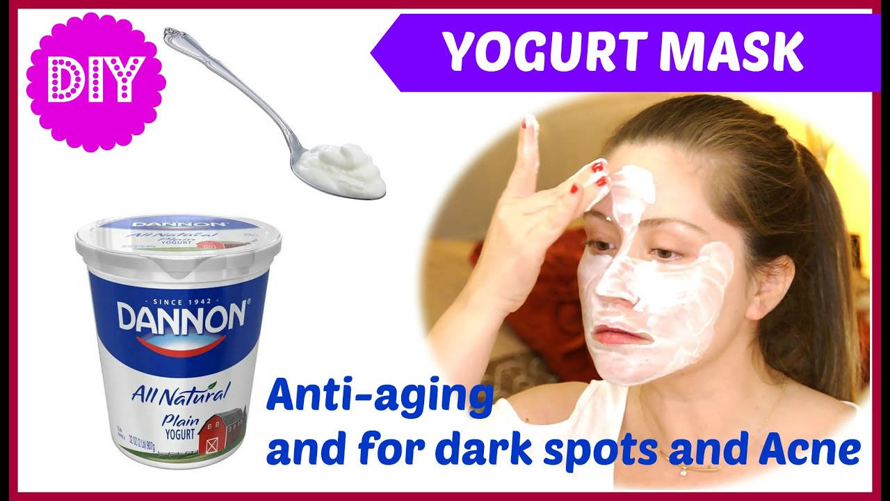 Yogurt facial masks