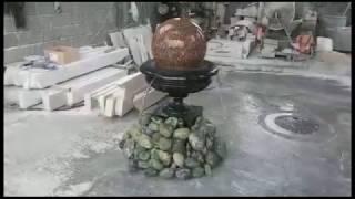 видео Гранитные вазы