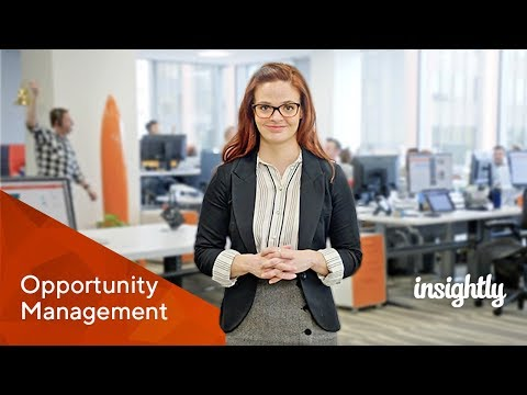 Insightly CRM - Opportunity Management