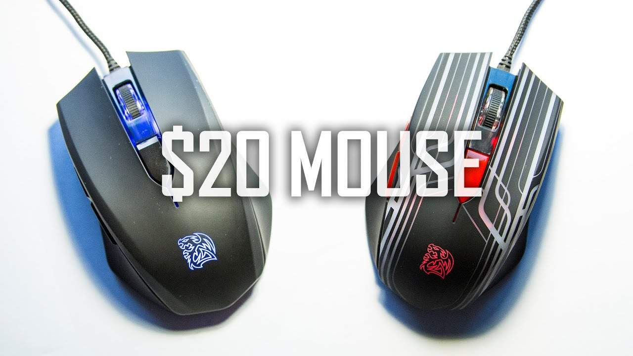 7a816507208 $19 Gaming Mouse any Good? Thermaltake Talon (BLU) Review - YouTube