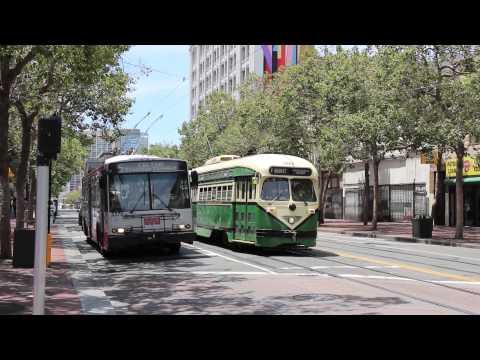 Make San Francisco MUNI (SFMTA) Trolleybuses and Streetcars Images