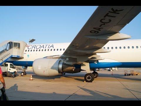 Full Flight Croatia Airlines OU663 Dubrovnik DBV - Zagreb ZAG Airbus A320 9A-CTK