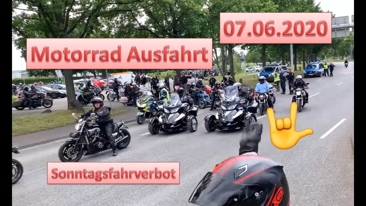 Motorrad Sonntagsfahrverbot