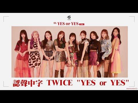 【認聲/繁中字】TWICE 트와이스 - YES Or YES