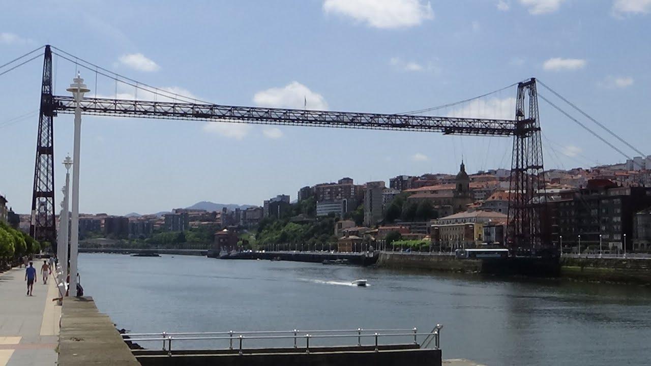04 07 2015 videos portugalete puente colgante las arenas for El jardin portugalete