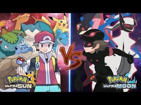 Pokemon Ultra Sun and Ultra Moon: Red Vs Dark Hero (Ultra Arceus)