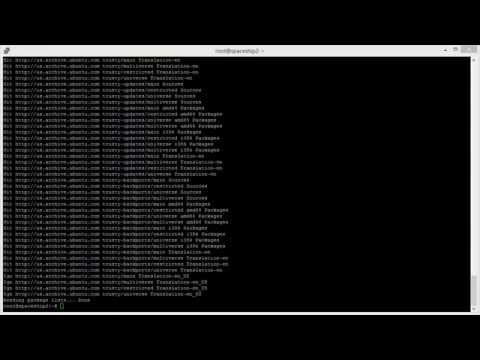 Installing the Backup Manager on Debian/Ubuntu