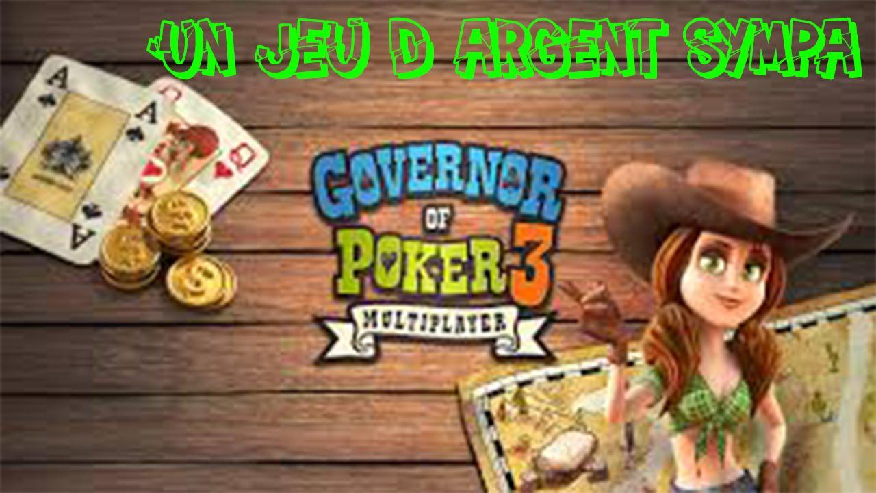 Blackjack governor of poker