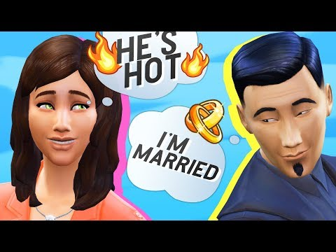 My Mom Flirts with a Married Man // Legacy Ep 7 // The Sims 4 Lets Play thumbnail