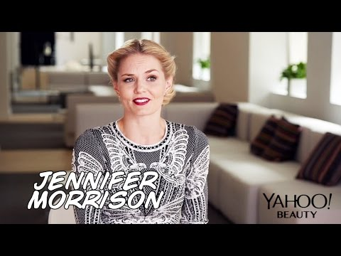 Jennifer Morrison's Beauty Stories for Yahoo