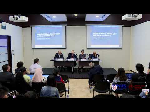 Panel Discussion Two: The Arab-Israeli Conflict
