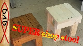 It's a table, it's a step, it's a stool,  it's Super Stool - for under $6