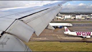 [HD] Garuda Indonesia Boeing 777-300ER landing London-Gatwick *Selamat Datang!*