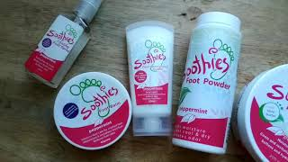 Soothies Foot Care Quick Review (this is for blog summary embed)