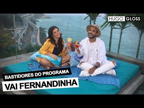 Hugo Gloss mostra os bastidores do novo programa de Fernanda Souza