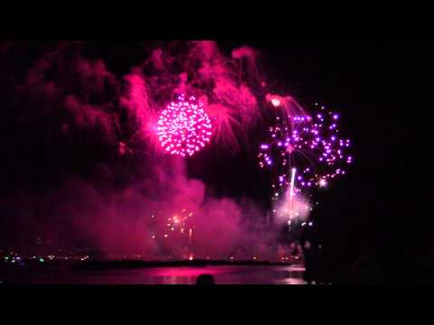 SunFest 2016 Fireworks Over the Downtown West Palm Beach Waterfront