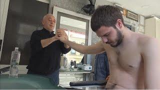 ASMR Turkish Barber Face Head And Body Massage 233