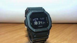 Мини-обзор часов Casio G-SHOCK DW-5600BB. Квадратные шоки.