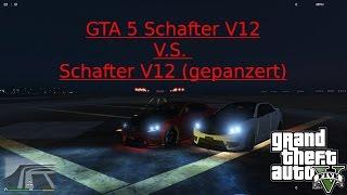 GTA 5 Schafter V12 V.S. Schafter V12 (gepanzert )