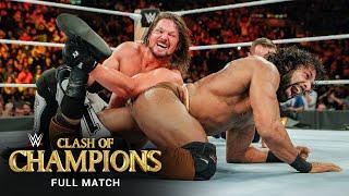 FULL MATCH: AJ Styles vs. Jinder Mahal – WWE Title Match: WWE Clash of Champions 2017