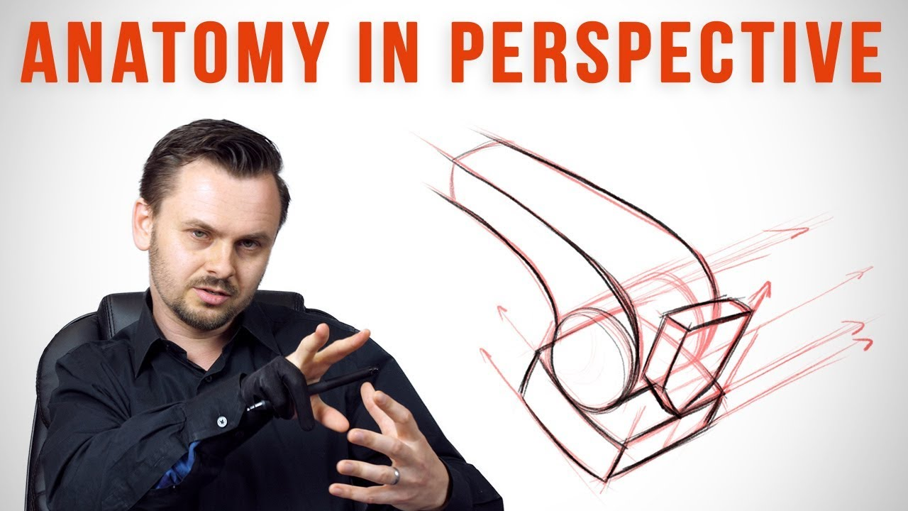 Drawing Anatomy in Perspective - Leg Bone Critiques - YouTube