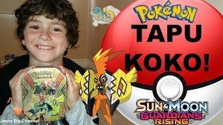 Pokemon Tapu Koko GX Tin! Guardians Rising Jenna Em