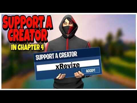 How To Get A Support A Creator In Season 3 *SUPER EASY!* How To Get A Support A Creator Code In 2020