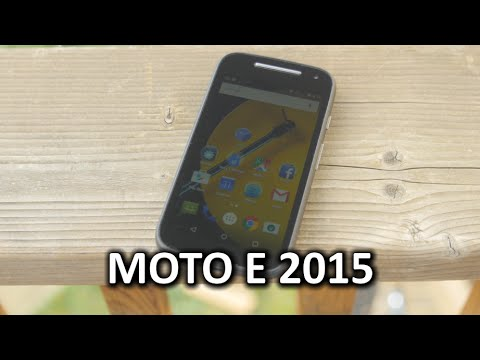 Moto E 2015 Phone Review