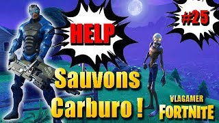 Fortnite Saving the World SAVE the soldier CARBURO! New MYTHICal hero! #25