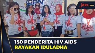 Ratusan Penyandang HIV dan AIDS Ikut Rayakan Iduladha 1441 Hijriah - JPNN.com