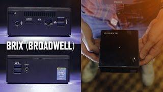 Gigabyte BRIX (now w/ Broadwell) | Perfect SFF Machine Thumbnail