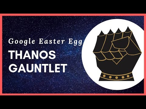 Google's New Thanos Easter Egg