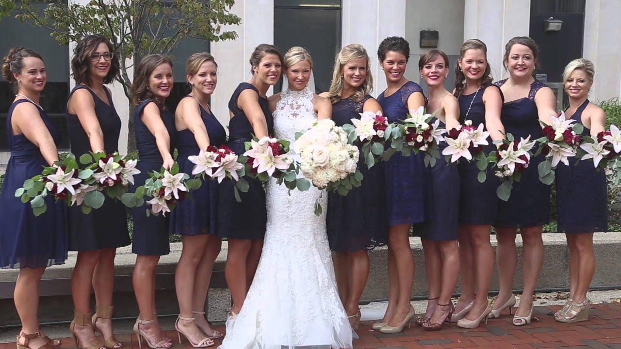 Downtown Lexington Kentucky Wedding Barry Kristen
