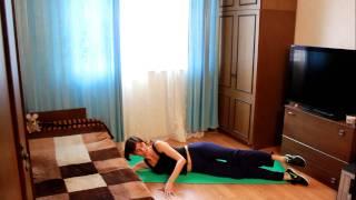 Упражнения для уменьшения объема бедер(Другие комплексы смотрите на сайте http://www.furor-dance.ru/, 2011-04-18T12:05:21.000Z)