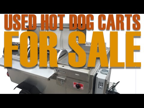 Used Hot Dog Carts For Sale
